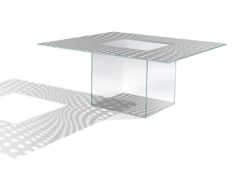 Contemporary style square table ICARO QUADRO MAC STOPA by Casali