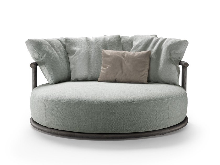Curved sofa ICARO | Curved sofa by Mood by Flexform