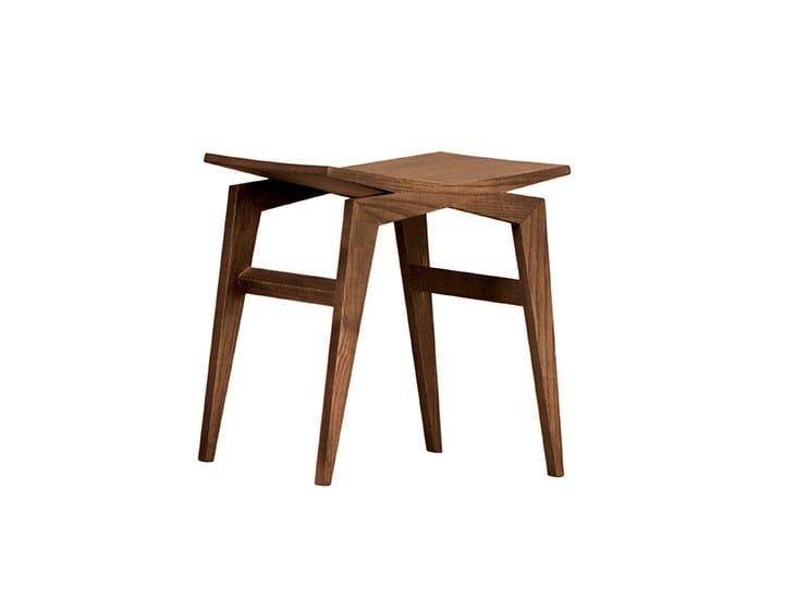 Low ash stool ICARO | Low stool by Morelato