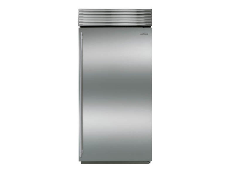 Built-in single door stainless steel refrigerator Class A + ICBBI-36R | Refrigerator by Sub-Zero