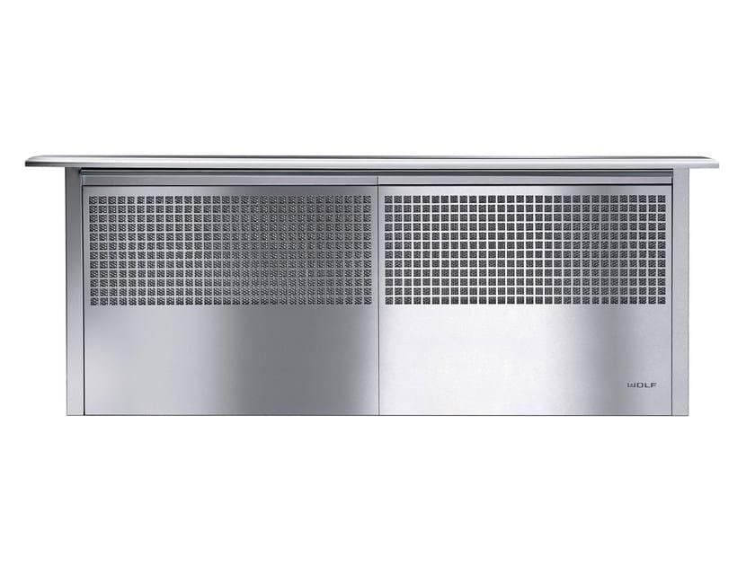 Cappa da piano in acciaio inox ICBDD45/36/30 I/R   Cappa estraibile by Sub-Zero