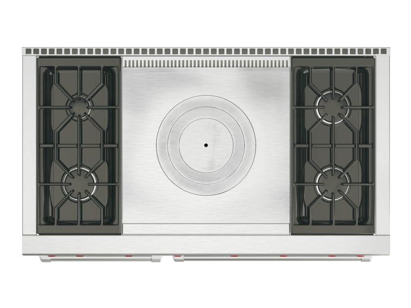 Cucina a libera installazione professionale in acciaio inox ICBDF484/486 | Cucina a libera installazione by Sub-Zero