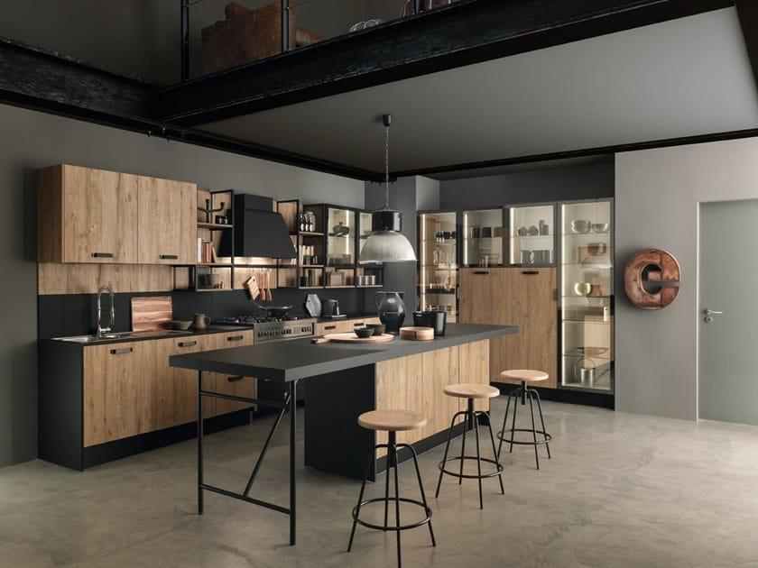 Linear Fenix-NTM® kitchen ICE | Fenix-NTM® kitchen by Febal Casa