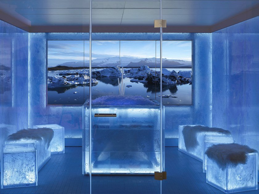 Ice fountain ICE LOUNGE by Klafs