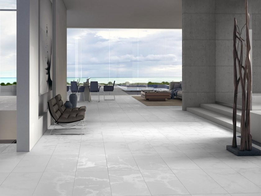 Porcelain stoneware wall/floor tiles ICE | Wall/floor tiles by RECER