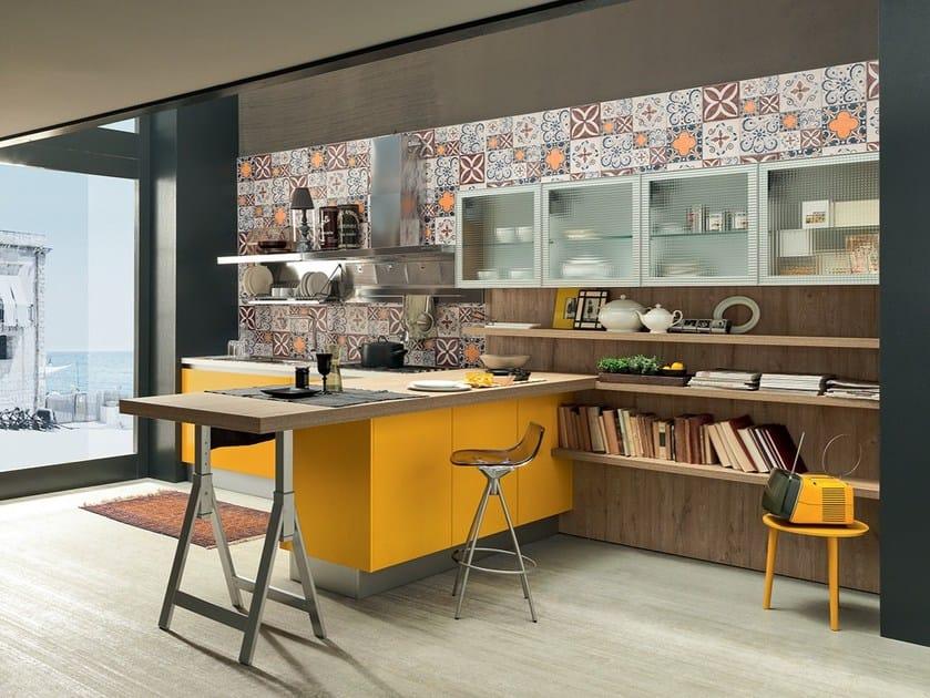 Ice sand cucina componibile by febal casa design dario - Cucine faber prezzi ...