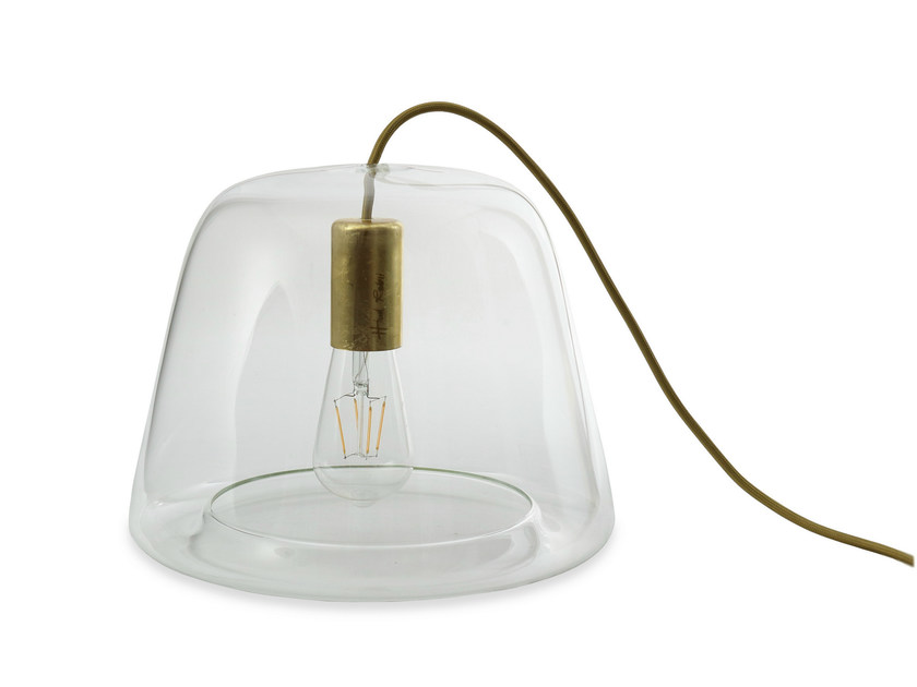 LED glass table lamp ICE-TB1000 by Hind Rabii