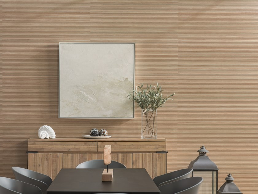 Ceramic wall tiles with wood effect ICE by Venis