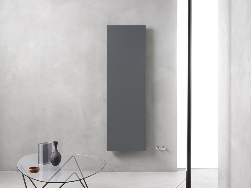 Carbon steel panel radiator ICE VERTICAL by Caleido