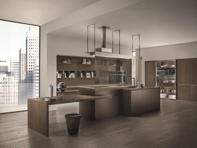 Cucina con isola ICONCOLOR Collezione Icon By ERNESTOMEDA design ...