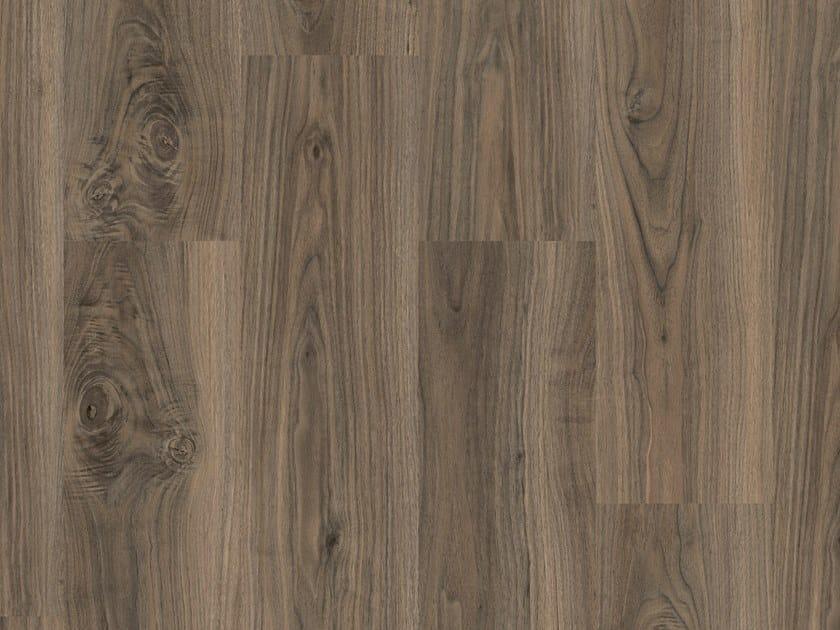 LVT flooring with wood effect iD SQUARE WALNUT by TARKETT