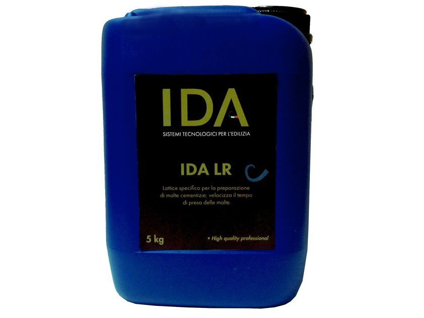 Additive for cement and concrete IDA LR by IDA