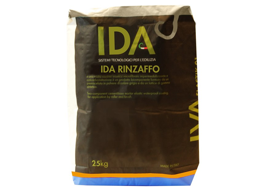 Renovating and de-humidifying additive and plaster IDA RINZAFFO by IDA