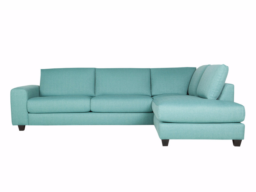 Corner upholstered 4 seater fabric sofa IDA by SITS