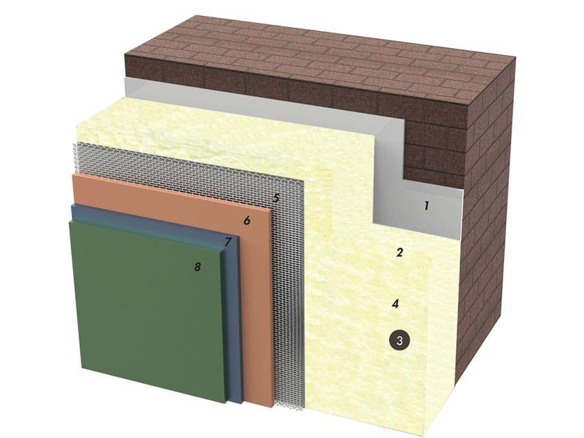 Exterior insulation system IDATERM BIOGLASS by IDA