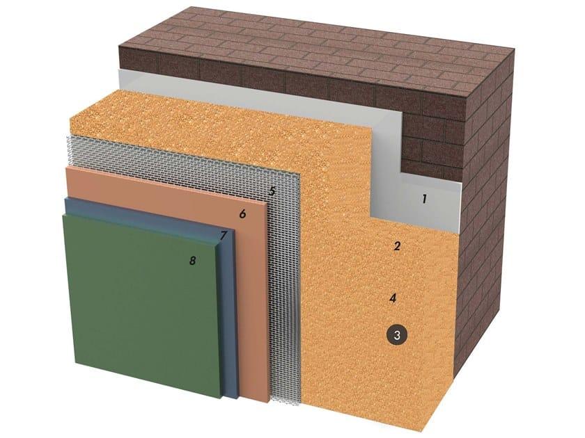Exterior insulation system IDATERM BIOCORK by IDA