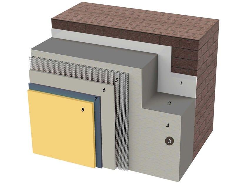 Exterior insulation system IDATERM GREY by IDA