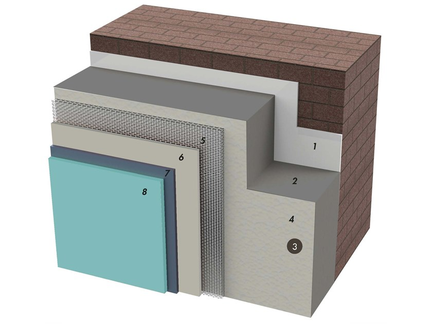 Exterior insulation system IDATERM GREY SHOCK by IDA