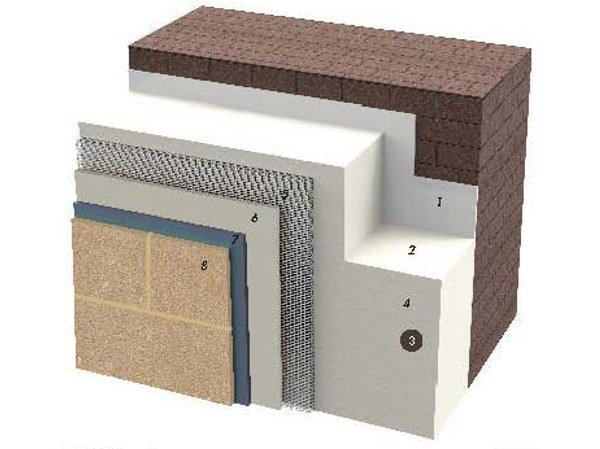 Exterior insulation system IDATERM PROTECT by IDA