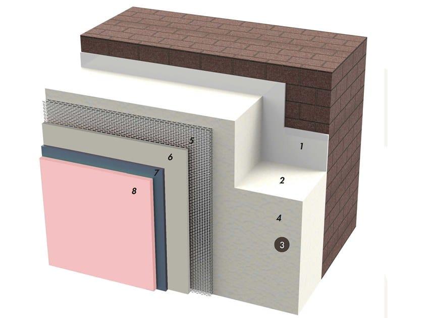 Exterior insulation system IDATERM WHITE SHOCK by IDA