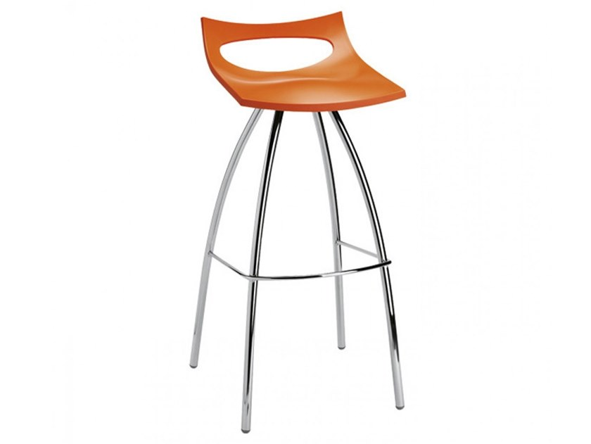 High polypropylene stool IDEA by Mobilspazio