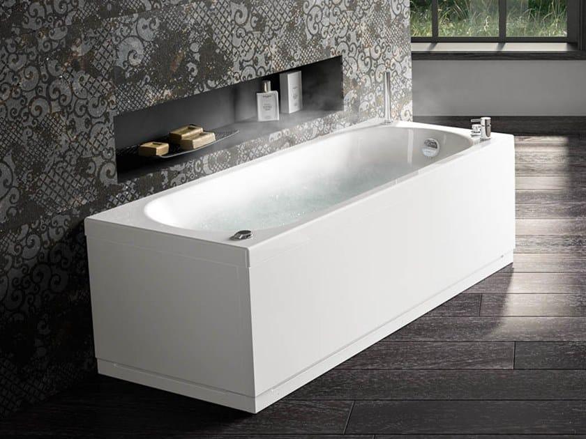 Vasca da bagno idromassaggio rettangolare in acrilico IDEA | Vasca da bagno rettangolare by Albatros