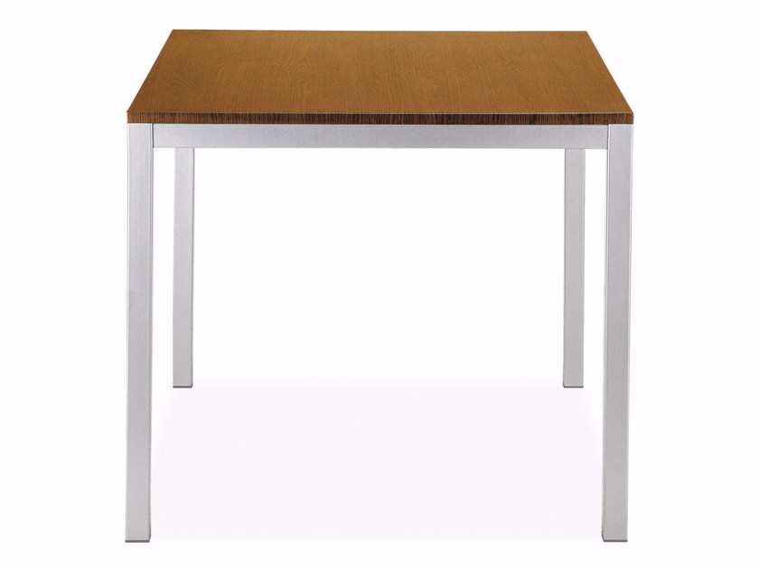 Square laminate table IDEA | Square table by Papatya