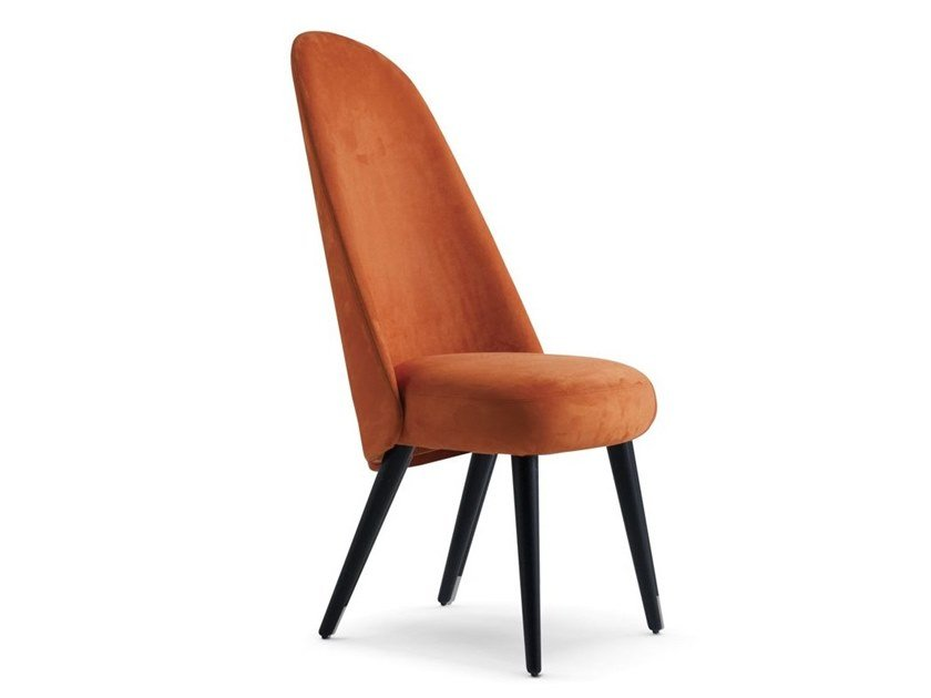 High-back fabric chair IDENTITIES | High-back chair by ROCHE BOBOIS