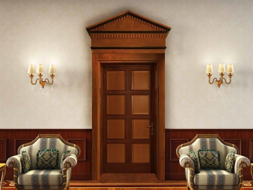Hinged wooden door IDRA by Arnaboldi Interiors