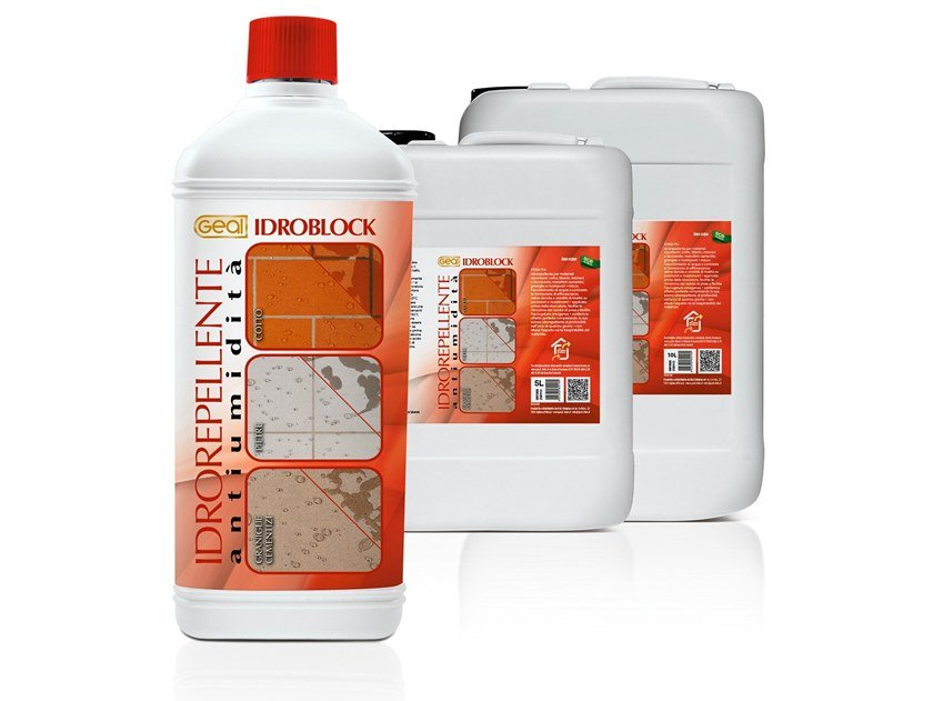 Surface water-repellent product IDROBLOCK by Geal