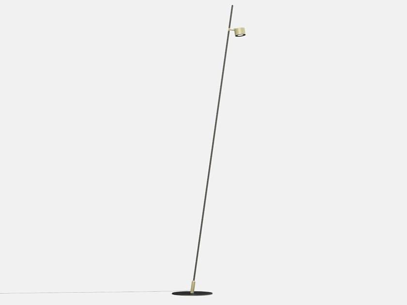 Lampada da terra per esterno a LED orientabile IFERROSI - PALO H3300-120 by Lucifero's
