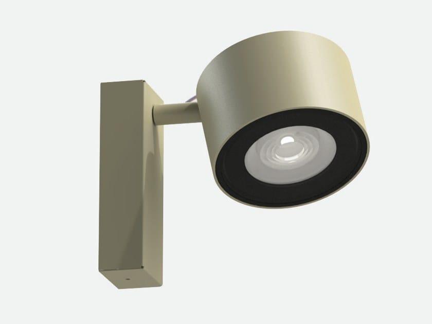 Lampada da parete per esterno a LED orientabile IFERROSI - SPOT 120 + CBL by Lucifero's