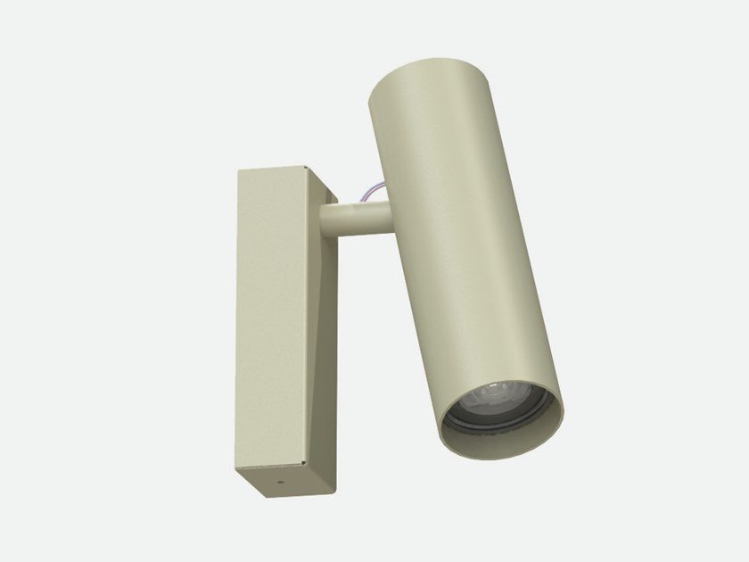 Lampada da parete per esterno a LED orientabile IFERROSI - SPOT 60 + CBL by Lucifero's