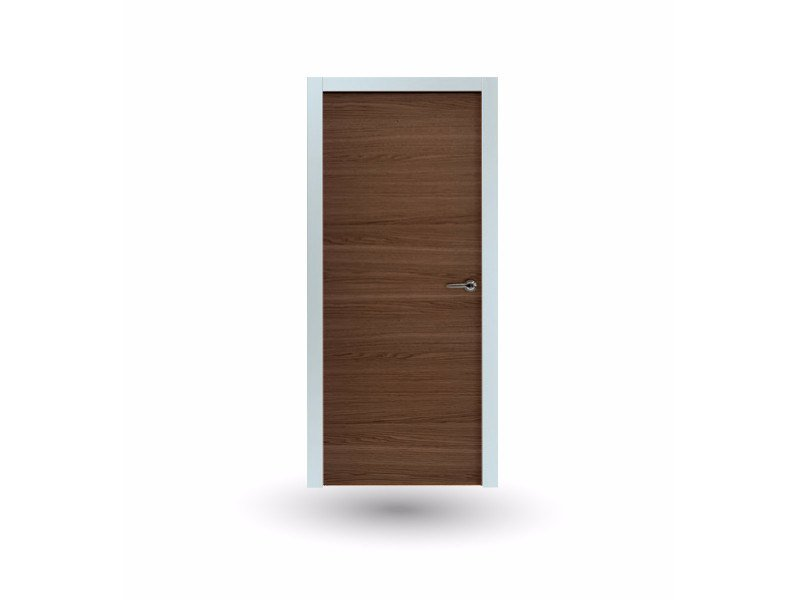 Hinged wooden door IKI 87G ROVERE TABACCO by GD DORIGO