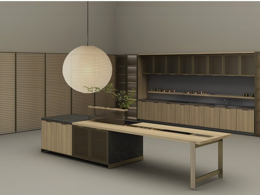 Fitted kitchen IKIGAI by Ornare