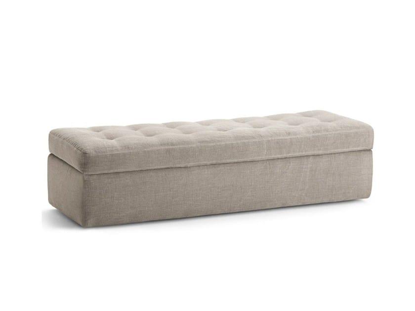 Fabric Pouf / Bench IKO | Storage Bench By Flou