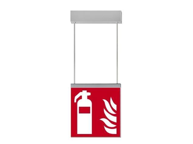 LED suspended emergency light IKUS 2222-S by DAISALUX