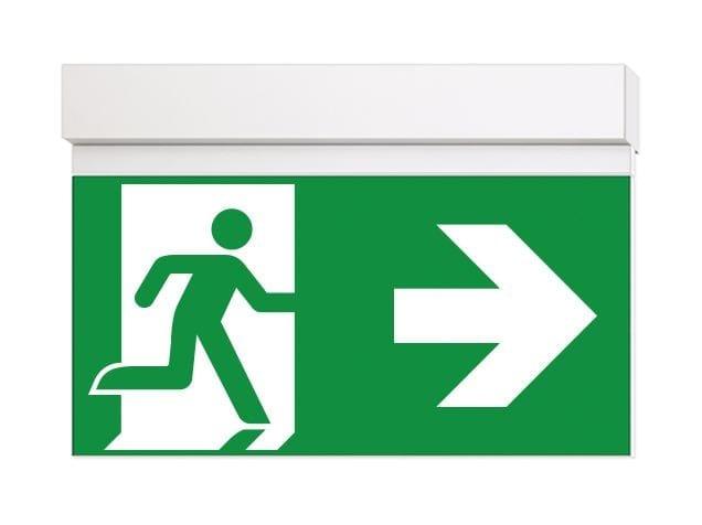Luce di emergenza a LED per segnaletica IKUS-T by DAISALUX