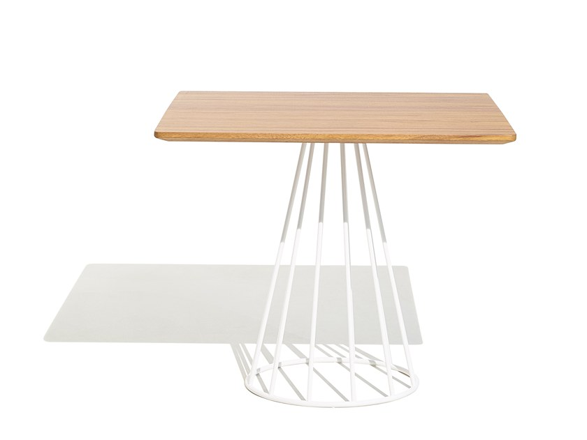 ILLA | Table carrée Collection Illa By Bivaq design Andrés Bluth