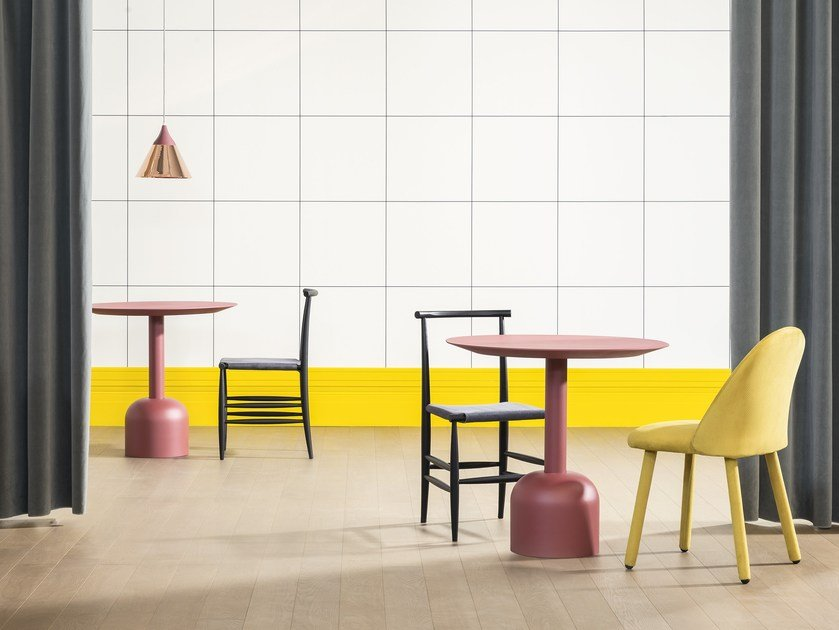 Lacquered table ILLO BISTROT by Miniforms
