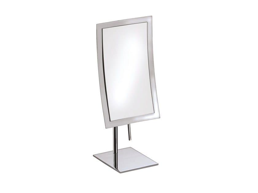 Countertop rectangular shaving mirror ILLUSION 908109002 | Shaving mirror by pomd'or