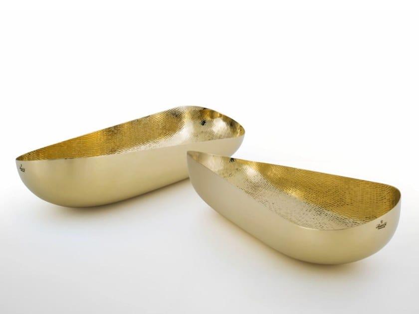 Metal bowl ILLUSIONI | Brass bowl by ZANETTO