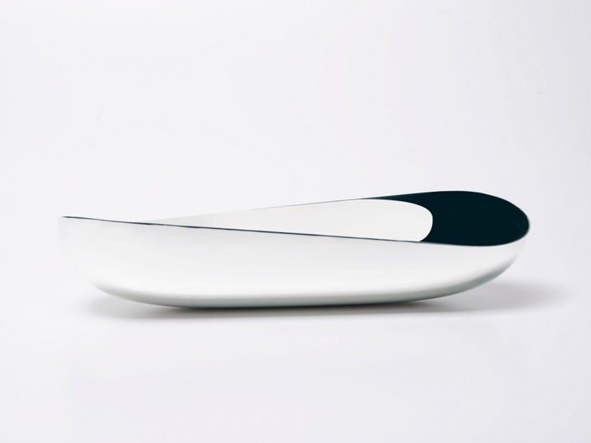 Silver bowl ILLUSIONI   Silver bowl by ZANETTO