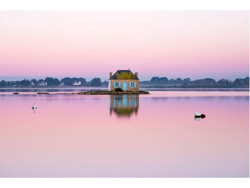 Stampa fotografica NICHTARGUER ISLAND IN THE EARLY MORNING by Artphotolimited