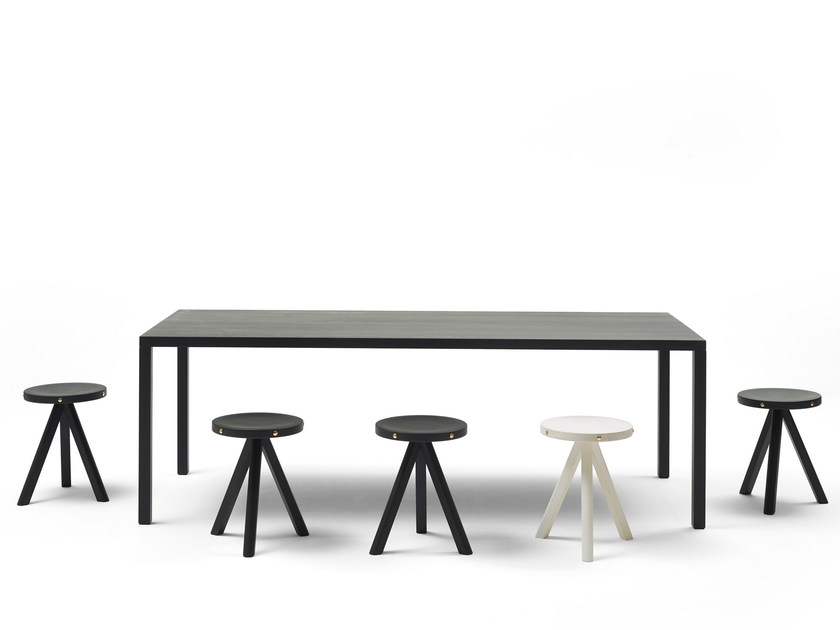 Rectangular ash table ILTAVOLO WOOD2 by Opinion Ciatti