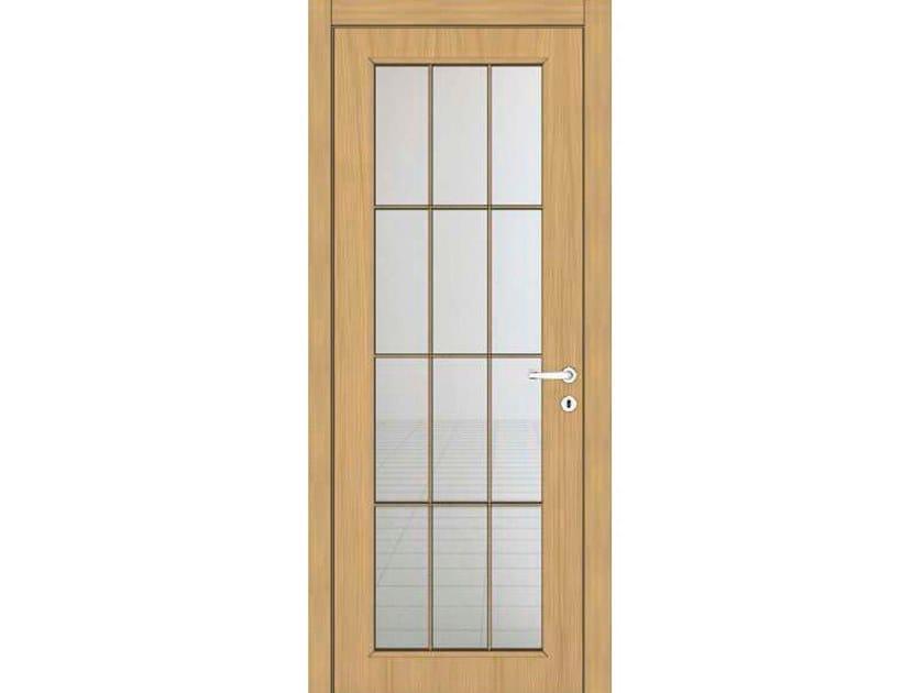 Hinged wooden door IMAGO 11T1 ROVERE GHIACCIO by GD DORIGO
