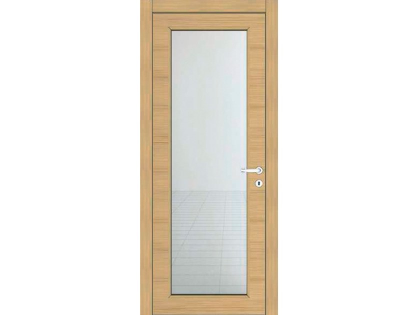 Hinged wooden door IMAGO 13V1 ROVERE GHIACCIO by GD DORIGO