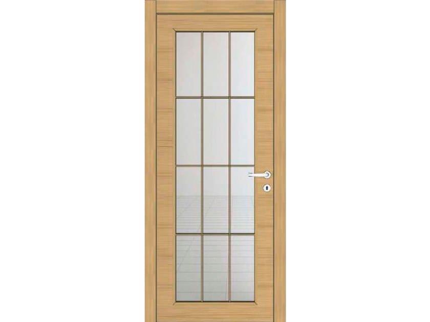Hinged wooden door IMAGO 13T1 ROVERE GHIACCIO by GD DORIGO
