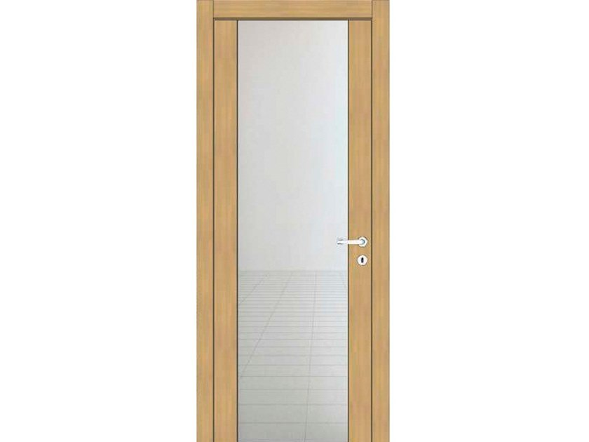 Hinged wooden door IMAGO 31V1 ROVERE GHIACCIO by GD DORIGO