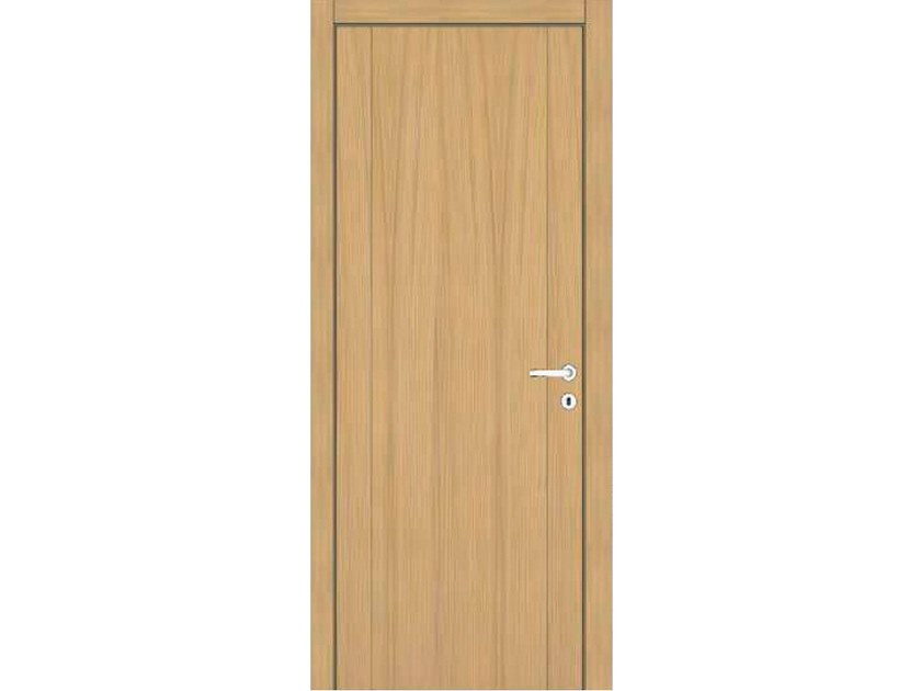 Hinged wooden door IMAGO 71I ROVERE GHIACCIO by GD DORIGO
